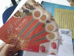 Voucher MAP 200K Hadiah Surat Cinta Untuk Ibu (Home Tester)