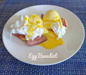 Egg Benedict : Si Telur Unik Nan Lezat