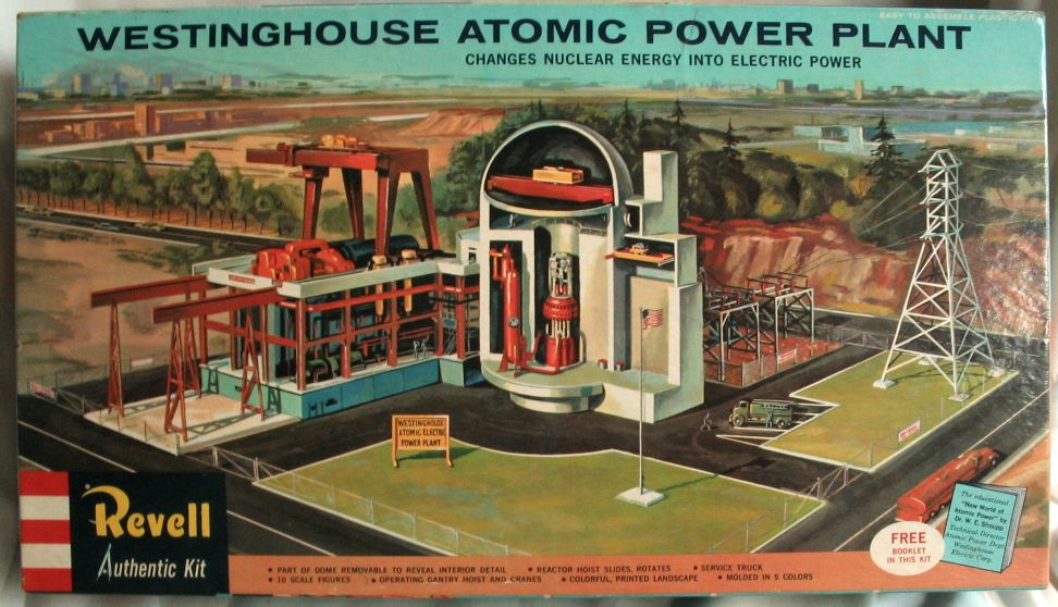 Westinghouse Atomic Power Plant Kit model by Revell