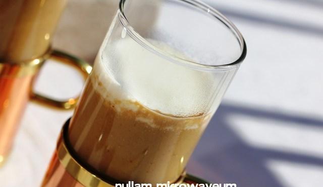 Cappuccino van funghi porcini