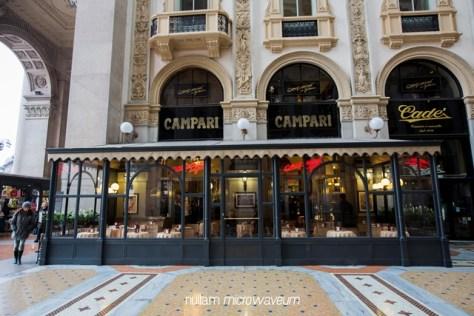 Milaan Camparino Bar