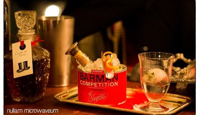 Sofie Ketels wint allereerste Campari-bartender competition met originele Negroni 'The Mistress'
