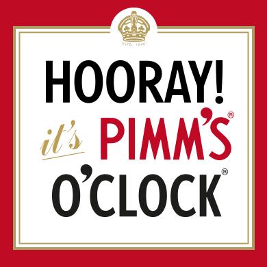 Pimm's o'clock