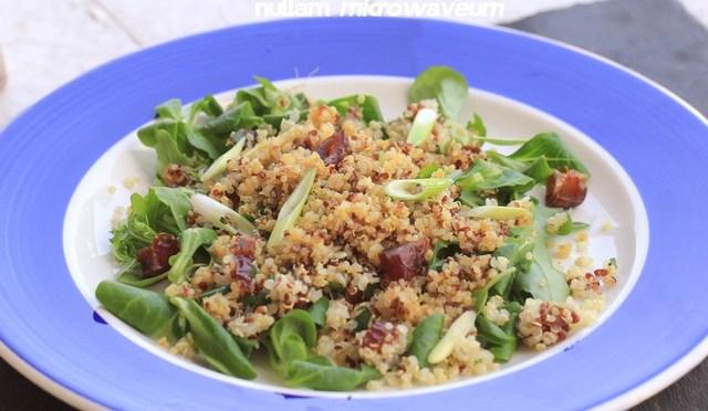 Kruidig varkenshaasje met gepofte quinoa