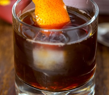 In the Mix Cold Brewed Coffee Negroni
