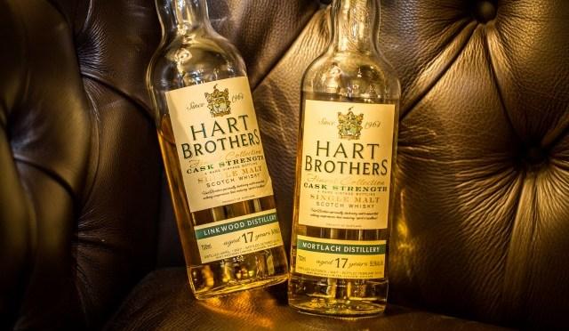 Hart Brothers: twee 17 jaar oude single malt whiskies