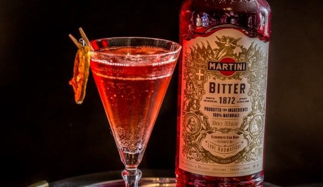 In the Mix: Kombucha Martini Bitter Spritz
