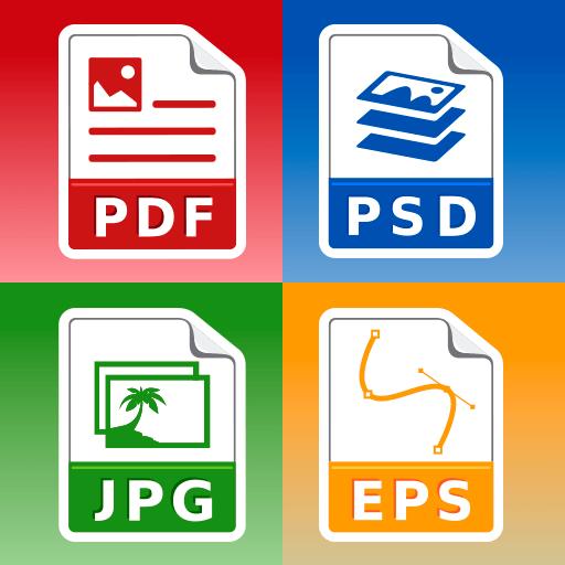 Photo & Image converter: jpg pdf eps psd png bmp Pro 103