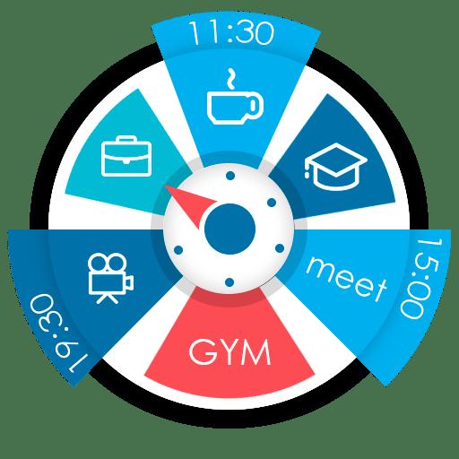 S.Graph: Calendar clock widget Pro 5.21