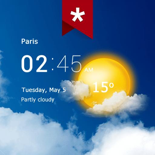 Transparent clock & weather Premium 5.8.1