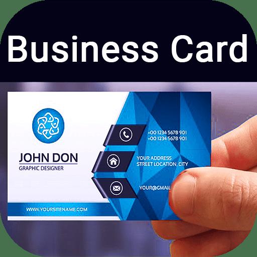 Business Card Maker Visiting Card Maker Photo Logo PRO 8.3