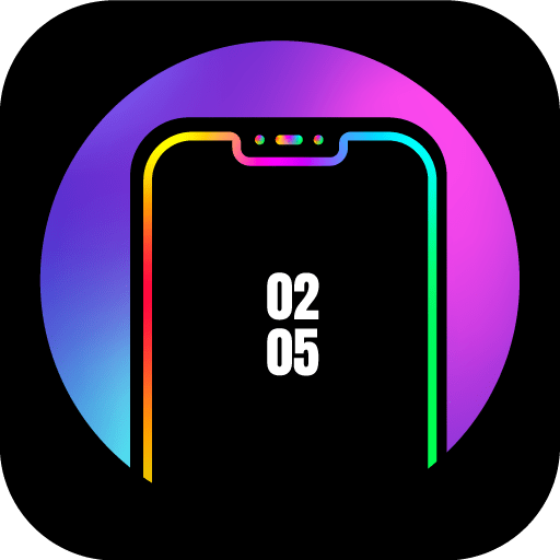 Edge Lighting Colors – Round Colors Galaxy 10.0