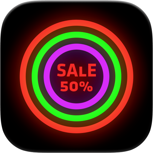 Neon Glow – Icon Pack 8.9.0