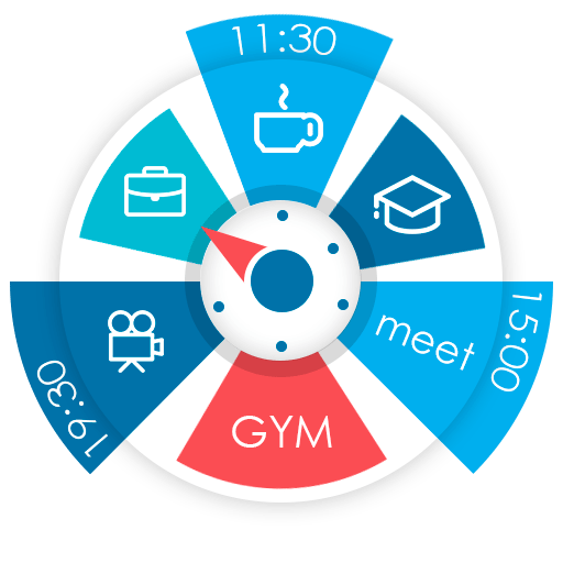 Sectograph. Planner & Time manager on clock widget v5.19.1