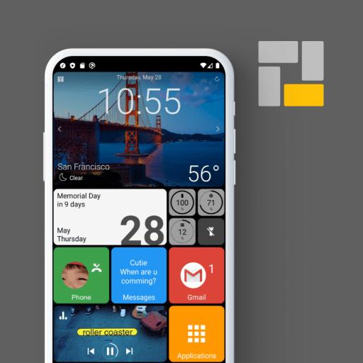 Square Home 3 – Launcher : Windows style Premium 2.2.6