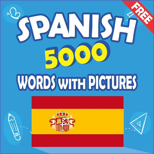Spanish 5000 Words with Pictures Pro 26.6