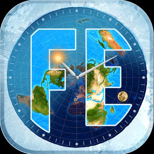Flat Earth Sun, Moon & Zodiac Clock 5.9.5