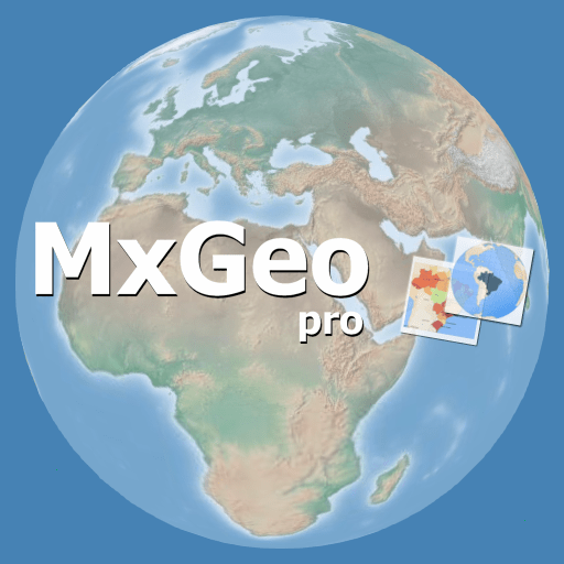World atlas & map MxGeo Pro 8.1.0