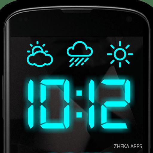 SmartClock – Digital Clock LED & Weather Premium 9.3