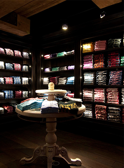 Superdry Flagship Store Nulty Lighting Design Consultants