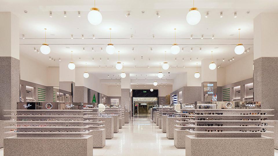 Selfridges Eyewear Destination Nulty Lighting Design