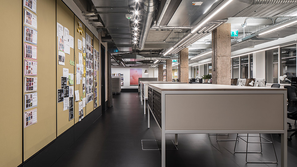 Creative Studio. London | Nulty | Lighting Design Consultants