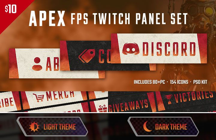 apex fps twitch panels