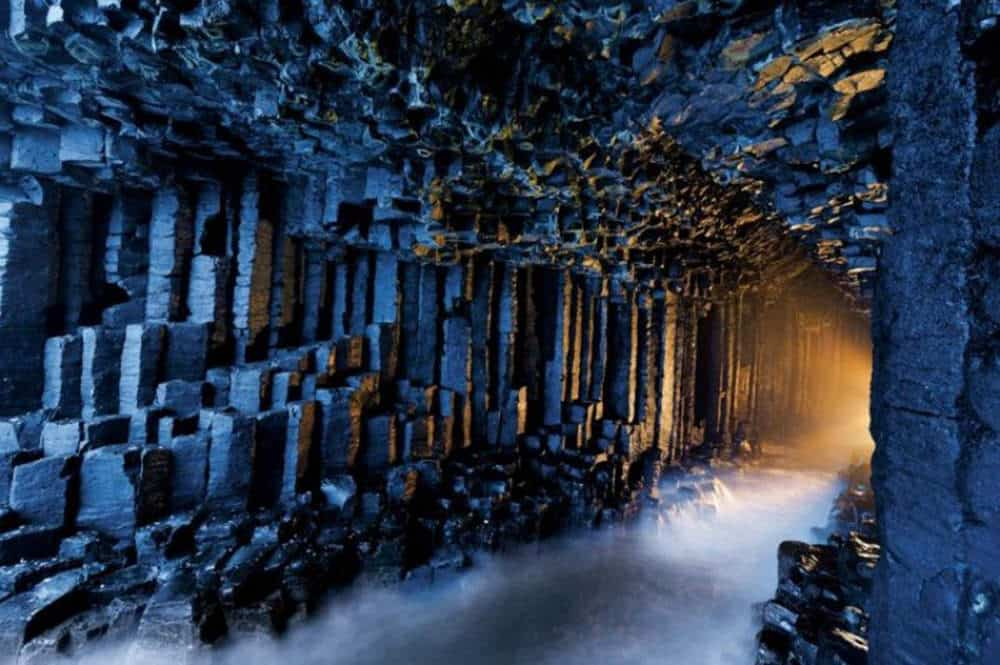 La cueva de Fingal, Escocia