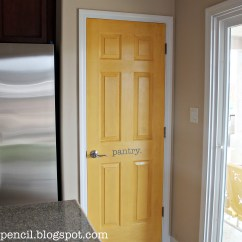 Kitchen Pantry Doors Home Depot Best Backsplash Yellow Door Makeover - No. 2 Pencil