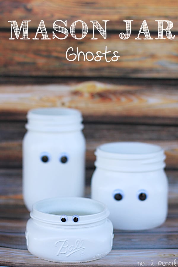 Mason Jar Ghost, by Number 2 Pencil