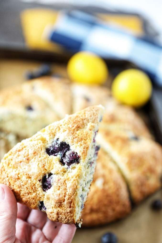 Bakery Style Blueberry Scones Recipe - No. 2 Pencil