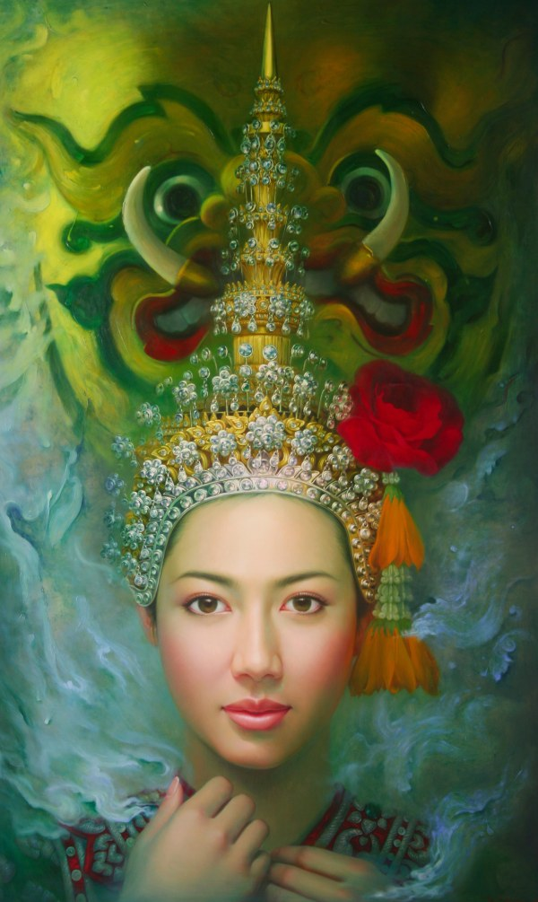Thailand Thai Art Paintings