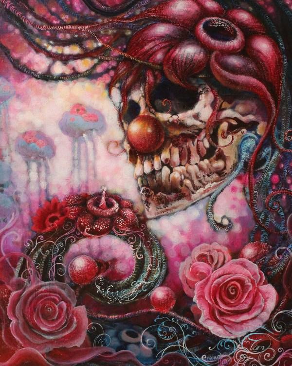 Evil Acrylic Paintings