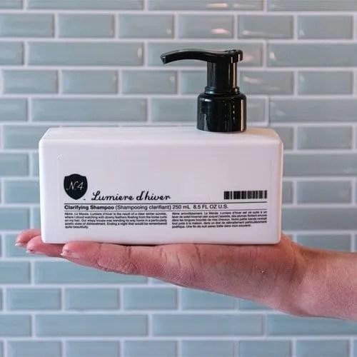 Clarifying Shampoo Bottle