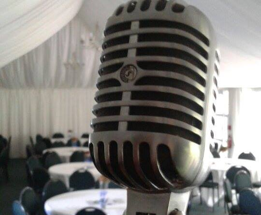 Woodlands Idol microphone