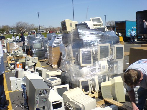 Dumped computers
