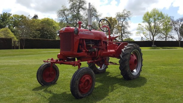 Photo of vintage tractor
