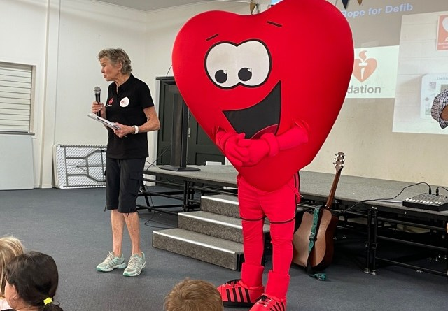 Photo of heart character