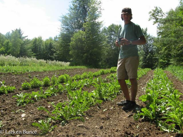 Jeff Carpenter at Zack Woods Herb Farm