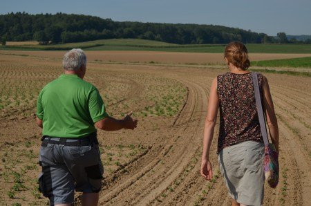 Photos from the Sustainable Herbs Project visit to Agrimed, an herb grower's cooperative in Germany.