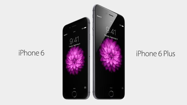 iphone 6 et iphone 6 plus tous les