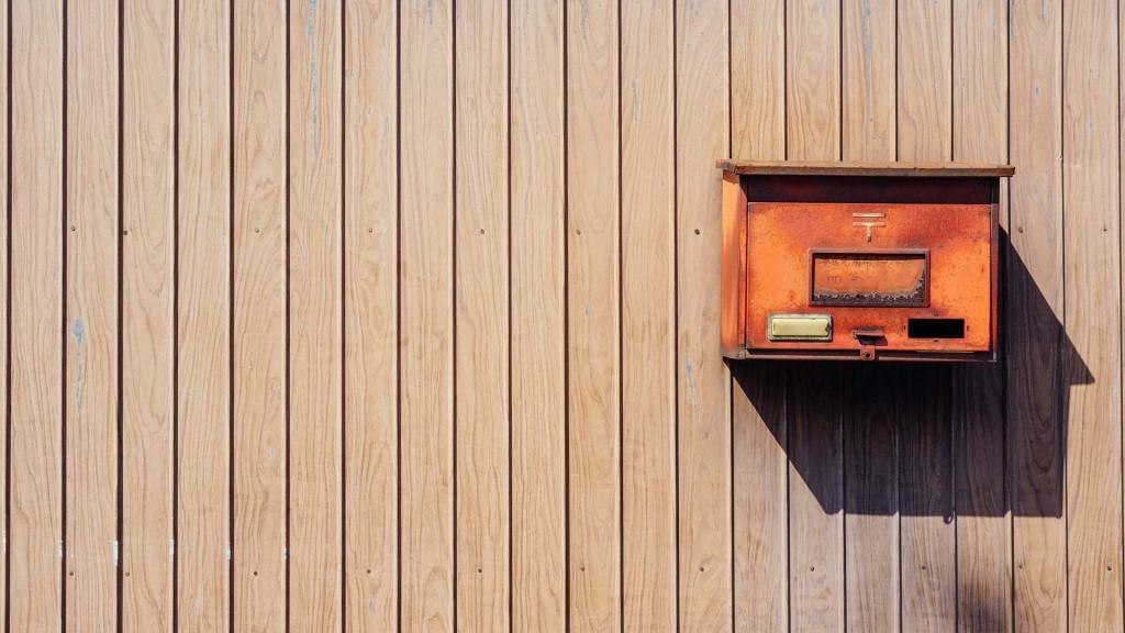 Boîte lettre mail