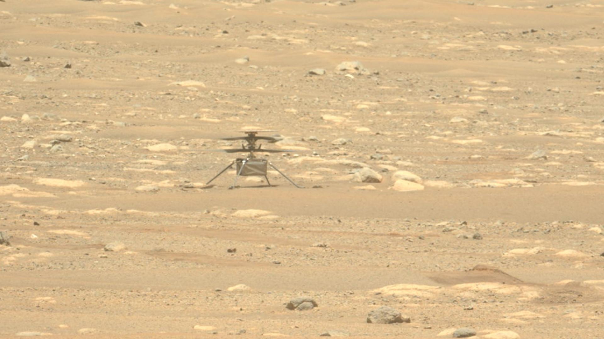 Quand Ingenuity va-t-il entamer la nouvelle phase de sa mission sur Mars ?
