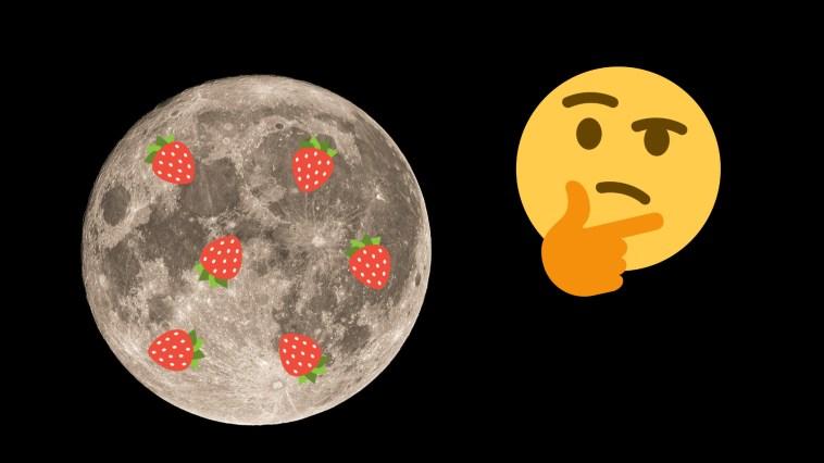 Tous ces noms de Lune sont poétiques, mais n'ont aucun sens en astronomie