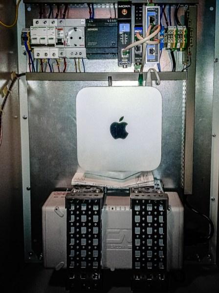 Локальный шкаф диспетчеризации ГПА