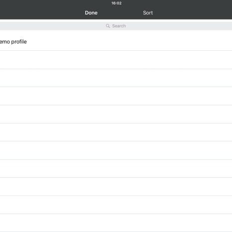 Приложение Progea для планшета, отображающее проект Movicon 11