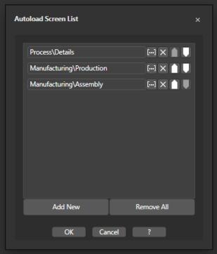 Выбор страницы для Системной навигации