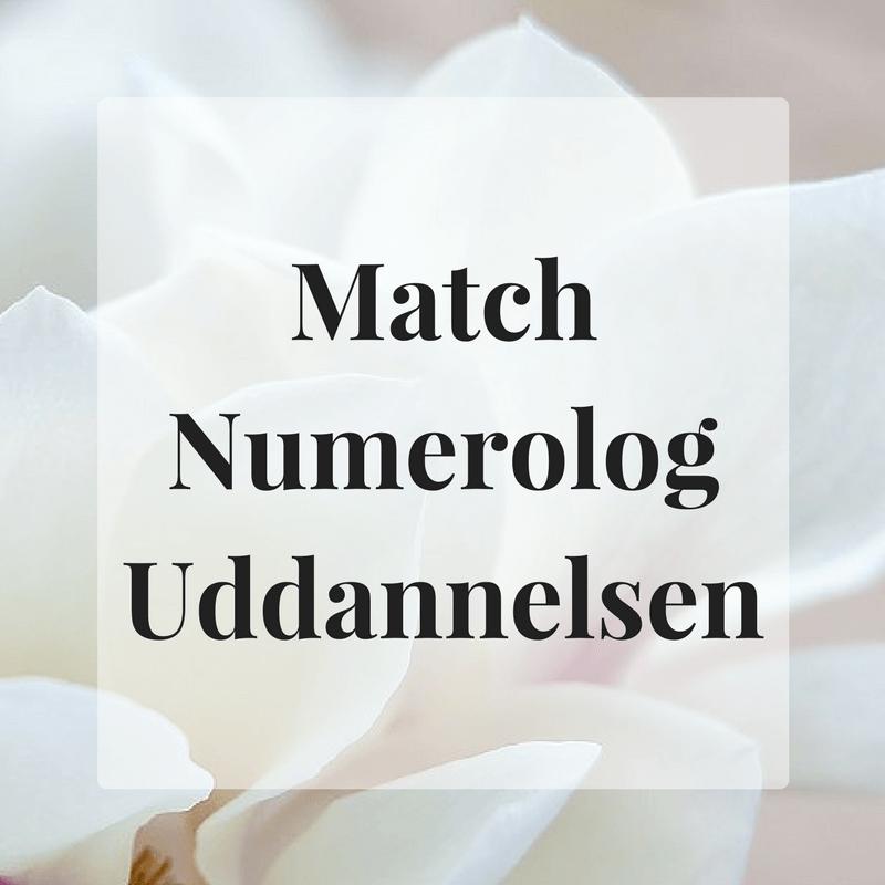 Match Numerolog Uddannelsen Millicentt Rosamunde