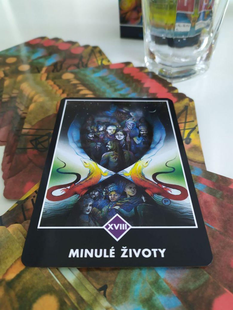 Tarotová karty Osho Zen Tarot XVII. Minulé životy