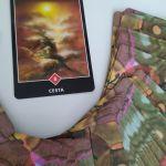 Tarotová karta Osho Zen Tarot s názvom Cesta